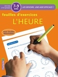 ZNU - Feuilles d'exercices L'heure - 7-9 ans, CE1/CE2 2e/3e primaire.
