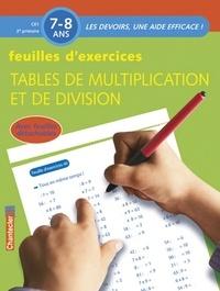 ZNU - Feuilles d'exercices : tables de multiplication et de division.