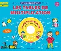 ZNU et Paul De Becker - Les tables de multiplication - 7-8 ans, 2e primaire, CE1. 1 CD audio
