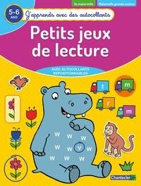 Galabria.be Petits jeux de lecture 3e maternelle, maternelle grande section 5-6 ans Image