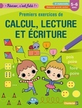 ZNU - Premiers exercices de calcul, lecture et écriture, 3e maternelle, maternelle grande section, 5-6 ans.