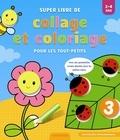 ZNU et Frieda Van Raevels - Super livre de collage et coloriage pour les tout-petits.