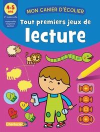 ZNU et Deborah Van de Leijgraaf - Tout premiers jeux de lecture 4-5 ans.