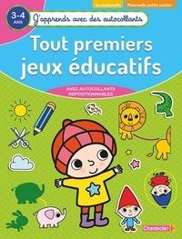 ZNU et Karin Van den Hende - Tout premiers jeux éducatifs maternelle petite section - Avec autocollants repositionnables.
