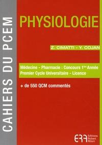 Zoé Cimatti et Yann Cojan - Physiologie.