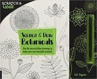 Deedr.fr Scratch & Draw Botanicals Image