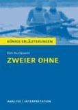 Zweier ohne von Dirk Kurbjuweit - Textanalyse. Baden-Württemberg 2014 - Alle erforderlichen Infos für den Realschulabschluss - Lektürehilfe + Prüfungsaufgaben mit Musterlösungen.